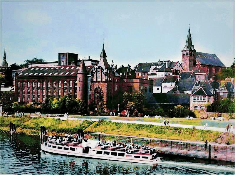 1953: Blick auf die Altstadt